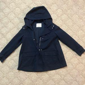 Zara outerwear Hooded Jacket